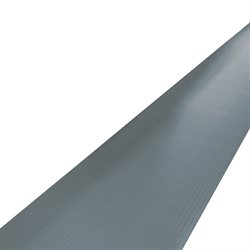 2 1/4 x 3' Gray Economy Anti-Fatigue Mat