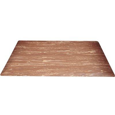 3 x 15' Walnut Marble Anti-Fatigue Mat