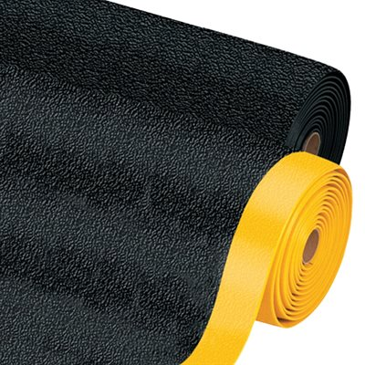 3 x 5' Black/Yellow Premium Anti-Fatigue Mat