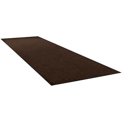 3 x 5' Brown Economy Vinyl Carpet Mat