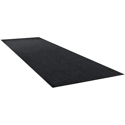 4 x 10' Charcoal Economy Vinyl Carpet Mat