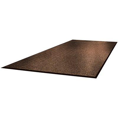 3 x 5' Brown Superior Vinyl Carpet Mat