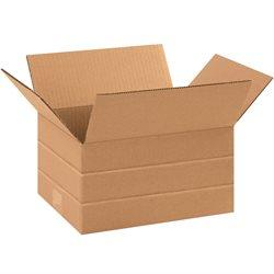 """10 x 8 x 6"""" Multi-Depth Corrugated Boxes"""