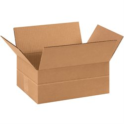"11 3/4 x 8 3/4 x 4 3/4"" Multi-Depth Corrugated Boxes"