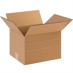 """12 x 10 x 6"""" Multi-Depth Corrugated Boxes"""