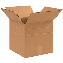 """12 x 12 x 10"""" Multi-Depth Corrugated Boxes"""