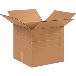 """12 1/2 x 12 1/2 x 12"""" Multi-Depth Corrugated Boxes"""