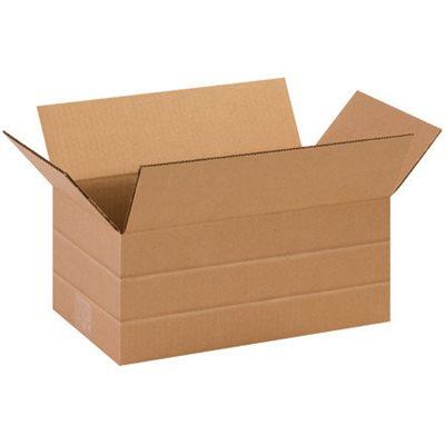 """14 x 8 x 6"""" Multi-Depth Corrugated Boxes"""