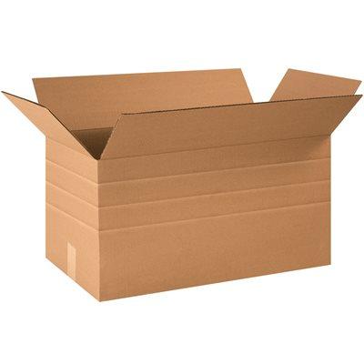"""24 x 12 x 12"""" Multi-Depth Corrugated Boxes"""