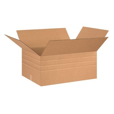 """26 x 20 x 12"""" Multi-Depth Corrugated Boxes"""