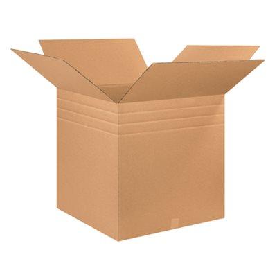 """26 x 26 x 26"""" Multi-Depth Corrugated Boxes"""