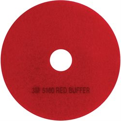 3M - 5100 Red Buffer Pad