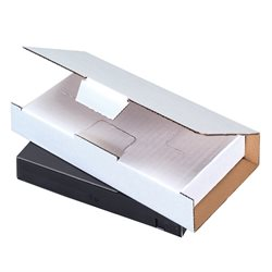 """8 1/4 x 4 3/8 x 1 3/16"""" White Video Tape Mailers"""
