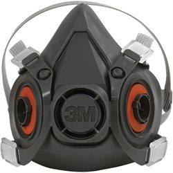 3M - 6200 Half Face Respirator - Medium
