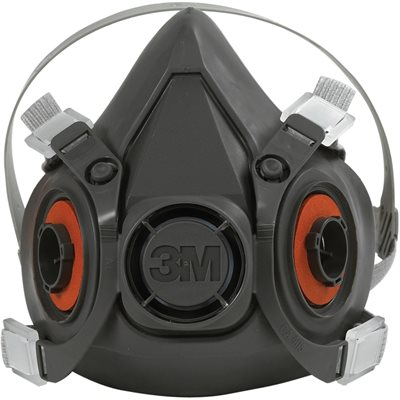 3M - 6300 Half Face Respirator - Large