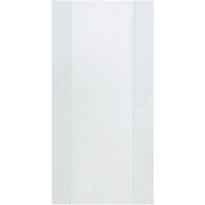 """10"""" x 6"""" x 18"""" - 2 Mil Gusseted Poly Bags"""