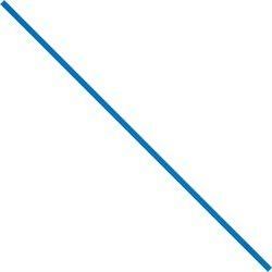 """5 x 5/32"""" Blue Paper Twist Ties"""