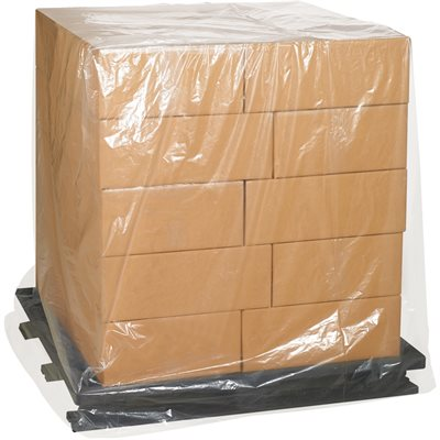 """54 x 44 x 96"""" - 2 Mil Clear Pallet Covers"""
