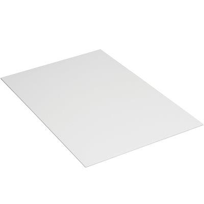 """40 x 48"""" White Plastic Corrugated Sheets"""