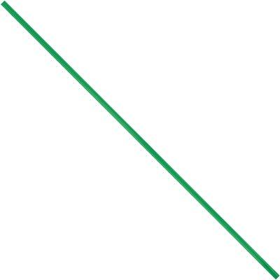 """4 x 5/32"""" Green Plastic Twist Ties"""