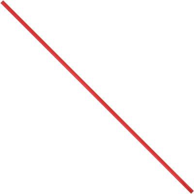 """9 x 5/32"""" Red Plastic Twist Ties"""