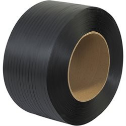 "1/2"" x 6600' - 9 x 8"" Core Machine Grade Polypropylene Strapping - Embossed"