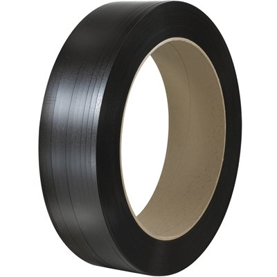 """1/2"""" x 5800' - 16 x 6"""" Core Polyester Strapping - Smooth"""