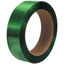 "5/8"" x 4400' - 16 x 6"" Core Polyester Strapping - Smooth"