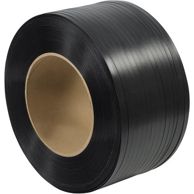 """5/8"""" x 6000' - 8 x 8"""" Core Hand Grade Polypropylene Strapping - Embossed"""
