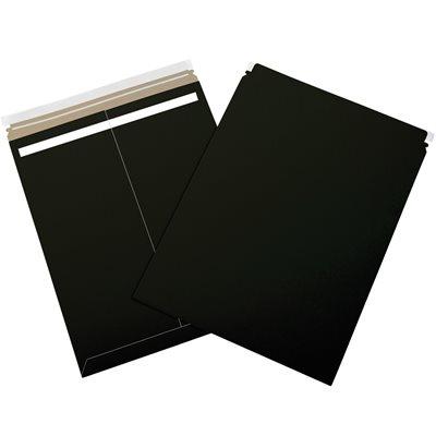"17 x 21"" Black Self-Seal Flat Mailers"