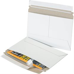 "9 x 6"" White Side Loading Flat Mailers"