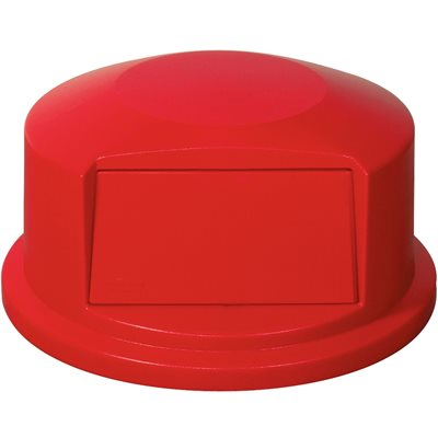 32 Gallon Brute® Container Domed Lid - Red