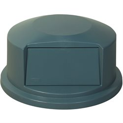 44 Gallon Brute® Container Domed Lid - Gray