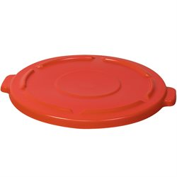 44 Gallon Brute® Container Flat Lid - Red