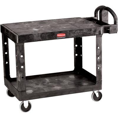 "44 x 26 x 33"" Flat Shelf Cart"