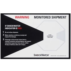 ShockWatch® Companion Labels