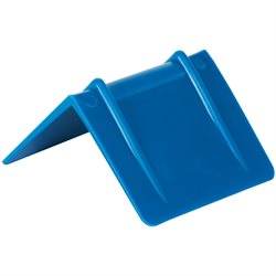 "2 1/2 x 2"" - Blue Plastic Strap Guards"