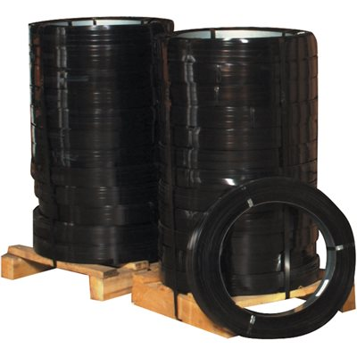 """1 1/4"""" x .025 Gauge x 940' High Tensile Steel Strapping"""