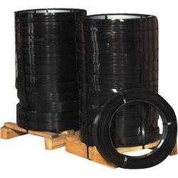 "1 1/4"" x .044 Gauge x 535' High Tensile Steel Strapping"