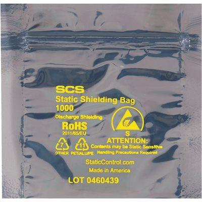 "5 x 5"" Reclosable Static Shielding Bags"