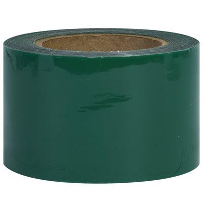 "3"" x 80 Gauge x 1000' Green Bundling Stretch Film"