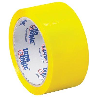 """2"""" x 55 yds. Yellow Tape Logic® Carton Sealing Tape"""