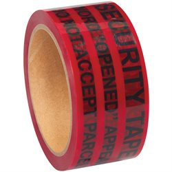 "2"" x 60 yds. Red Tape Logic® Secure Tape"