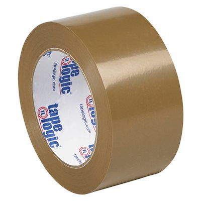 """2"""" x 110 yds. Tan Tape Logic® #53 PVC Natural Rubber Tape"""