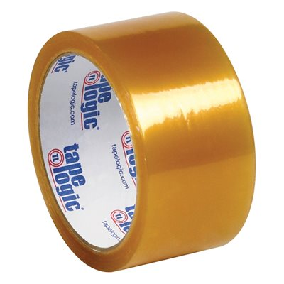 """2"""" x 110 yds. Clear Tape Logic® #53 PVC Natural Rubber Tape"""