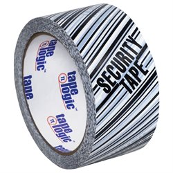 "2"" x 110 yds. - ""Security Tape"" Print Tape Logic® Security Tape"