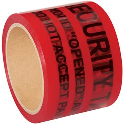 "3"" x 60 yds. Red Tape Logic® Secure Tape"