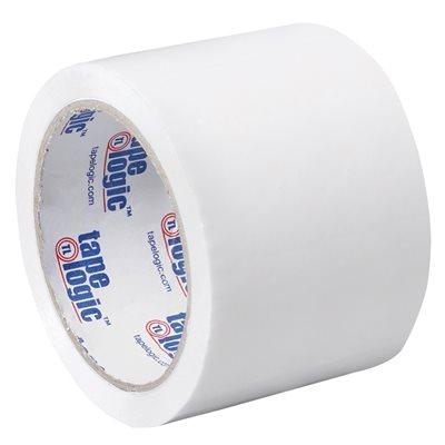"""3"""" x 55 yds. - White (6 Pack) Tape Logic® Carton Sealing Tape"""