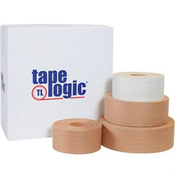 72mm x 375' Kraft Tape Logic® #7200 Reinforced Water Activated Tape