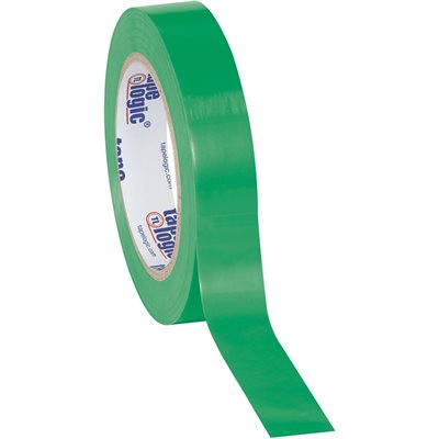 """1"""" x 36 yds. Green (3 Pack) Tape Logic® Solid Vinyl Safety Tape"""
